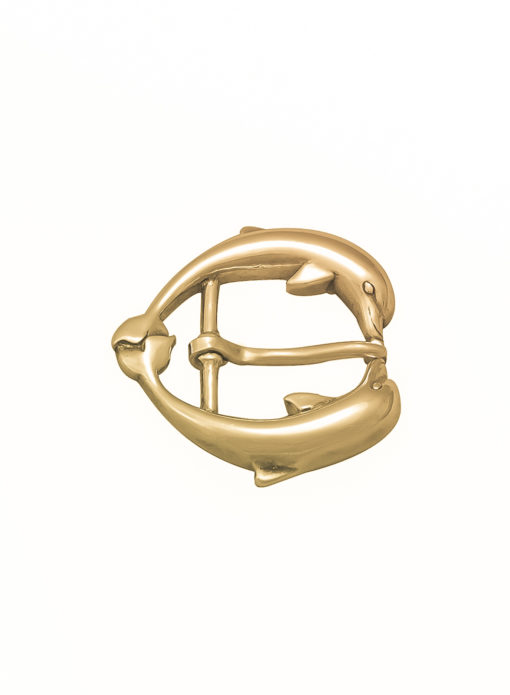 Fibbia Gold Plated Bagnata nell'oro Made in Italy Handcrafted Alessandra Fontanelli Luxury Accessories BUUDODEGP