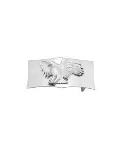 Fibbia Aquila Argento Silver 925 Made in Italy Handcrafted Alessandra Fontanelli Luxury Accessories BUUDOAQS