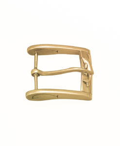 Fibbia Gold Plated Bagnata nell Oro Made in Italy Handcrafted Alessandra Fontanelli Luxury Accessories BUUTEGP
